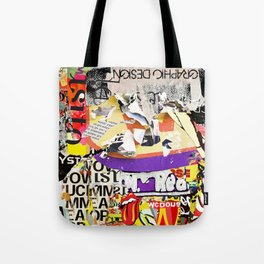 Urban Scratches Tote Bag