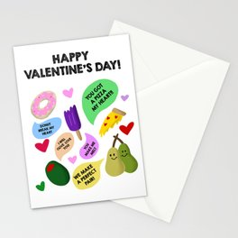 Valentines Day Puns Stationery Cards