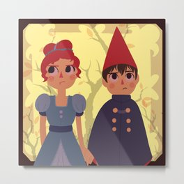 Wirt and Beatrice Metal Print