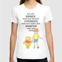 pooh T-shirts featuring WINNIE THE POOH by DisPrints