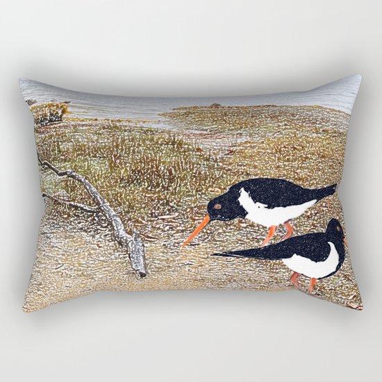 Enjoying the Tao Rectangular Pillow