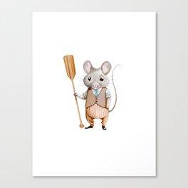 Ratty Canvas Print