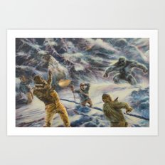 Ambushed! Art Print