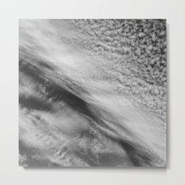Cloud 01 (B&W) Metal Print