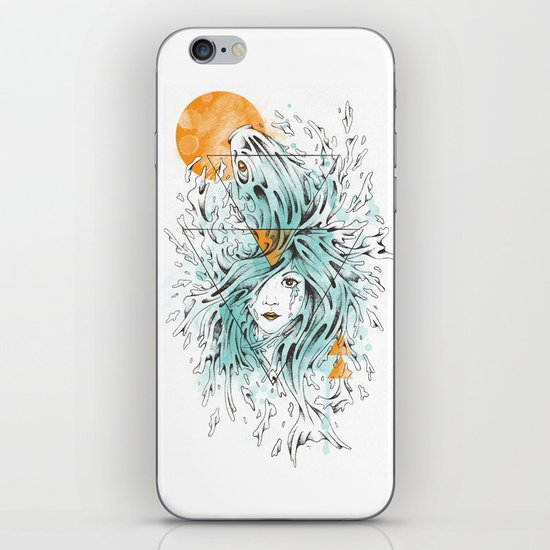 ariel 2.0 iPhone & iPod Skin
