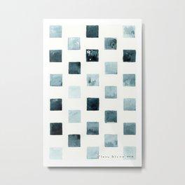 Indigo landscapes Metal Print