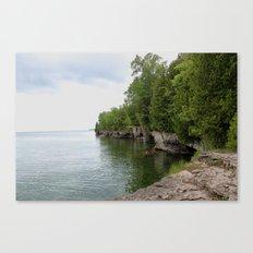 Cave Point County Park Canvas Print