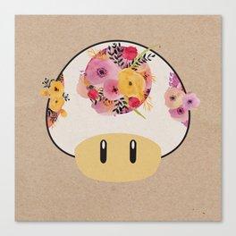 Mushroom in Bloom Canvas Print