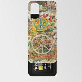 Peace Sign - Love - Graffiti Android Card Case