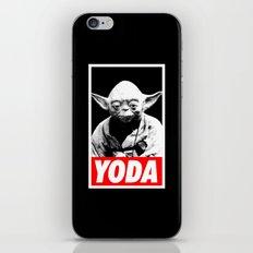 Obey Yoda (yoda text version) - Star Wars iPhone & iPod Skin