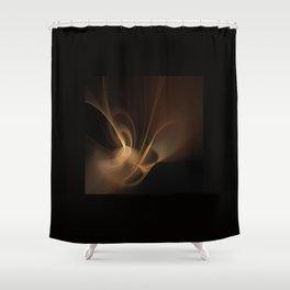 gold haze Shower Curtain