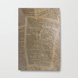 Dariusz Stolarzyn Bible College Digital Metal Print