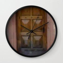 FEAR CAME KNOCKING; FAITH ANSWERED Wall Clock
