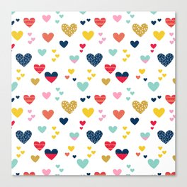 cheerful hearts Canvas Print