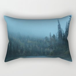 Into the Fog Rectangular Pillow