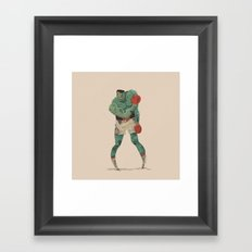 ...stings like a bee! Framed Art Print