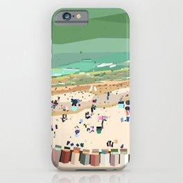 Geometric Brighton Beach bathing boxes, Melbourne, Australia iPhone Case