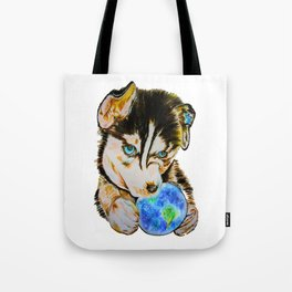 Arien - The Dreaming Husky Tote Bag