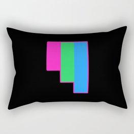 Polysexual Rectangular Pillow
