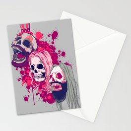 Three From Hell Stationery Cards
