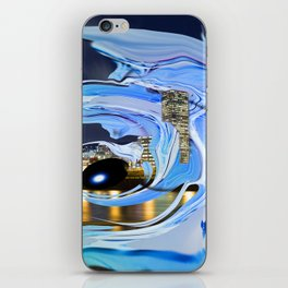 Face of the City iPhone Skin