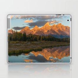 Sunrise On The Snake River Laptop & iPad Skin
