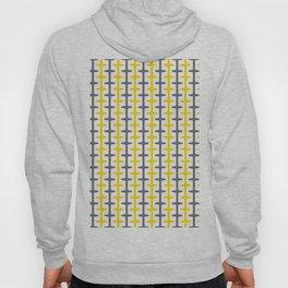 Geometric Pattern 209 (yellow gray) Hoody