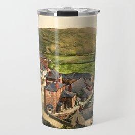 New Road, Boscastle, Cornwall, ca. 1895 Travel Mug