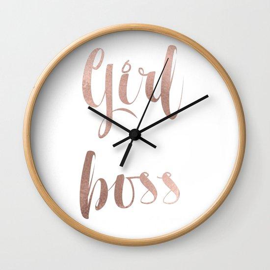 Girl boss - rose gold by peggieprints