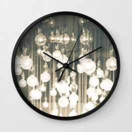 a million lights Wall Clock