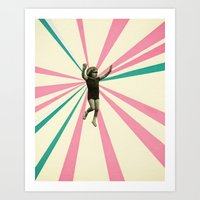 play Art Prints featuring Play by Cassia Beck