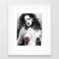 milk Framed Art Prints featuring Mother's Milk by Fresh Doodle - JP Valderrama