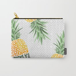 Pineapple lovers 'Prickly Bitch' series Carry-All Pouch
