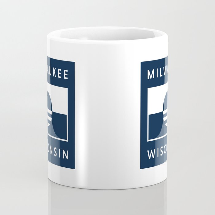 Milwaukee Wisconsin - Navy - People's Flag of Milwaukee Coffee Mug