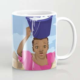 African Village Girl Coffee Mug