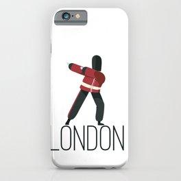 Dabbing London iPhone Case