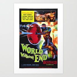 Classic Movie Poster - World Without End Art Print