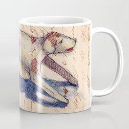 Metal Dog from France Coffee Mug