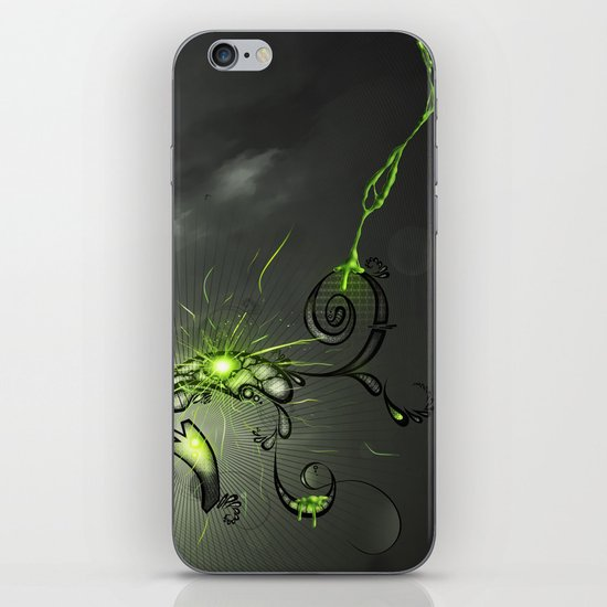 Toxic iPhone & iPod Skin