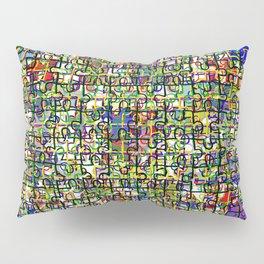 Jigsaw Junkie Mesh Pillow Sham