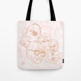 Israeli Leaders: Pattern 3 Tote Bag