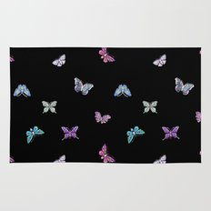 Butterfly New Year Party Rug