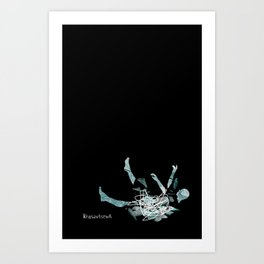 Everything is shaky and fragile Art Print