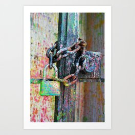 Contradiction Art Print