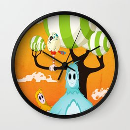 Loky's Fear Wall Clock