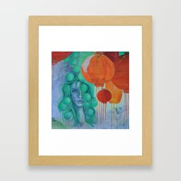 NIGHTMARKET Framed Art Print