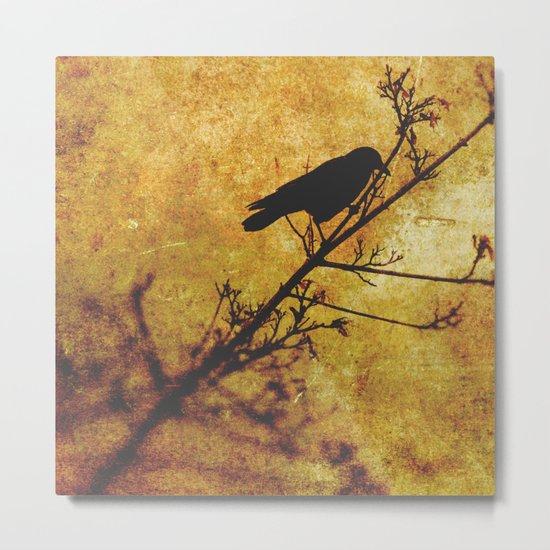 Solitary Bird Metal Print