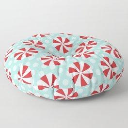 Pinwheels (Red) Floor Pillow