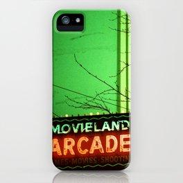 Movieland Arcade, Vancouver iPhone Case
