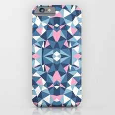Abstract Collide Blue and Pink iPhone 6s Slim Case